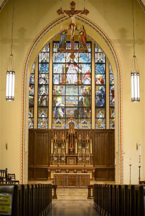 catholic church near lincoln center st aquinas church and newman center local