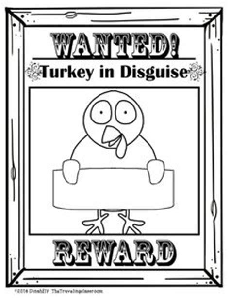 olaf printable turkey disguise write this way on pinterest writer workshop