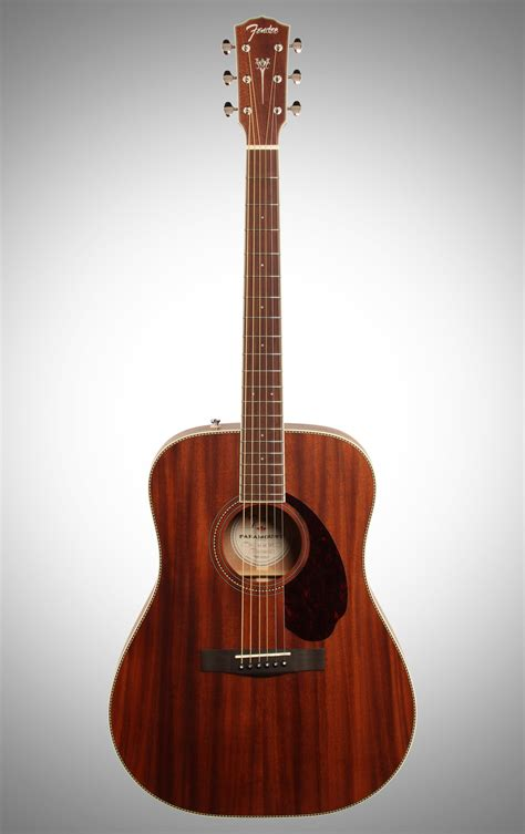 Gitar Akustik Fender List fender pm 1 standard dreadnought all mahogany ne acoustic