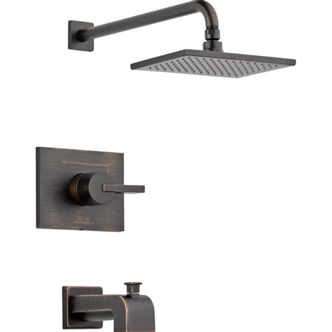 delta vero 1 handle tub and shower faucet trim kit only in