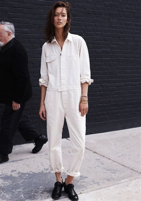 5 ways to wear a white jumpsuit pinnutty