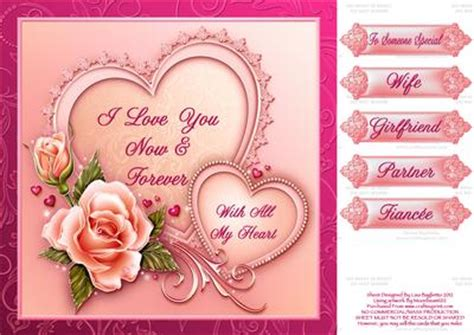 Printable Romantic Valentine Cards 6 best images of printable cards