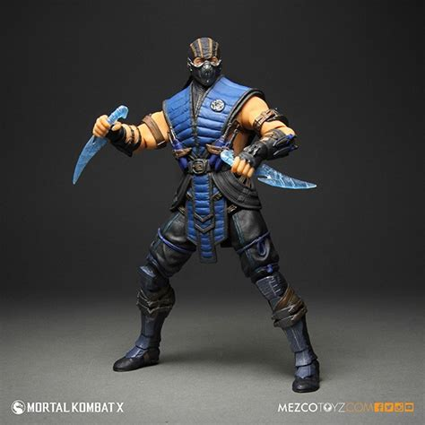 mk x figures mezco 12 inch mortal kombat x sub zero and scoprion the