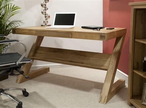 z shaped desk opus solid oak z shape computer desk oak furniture uk
