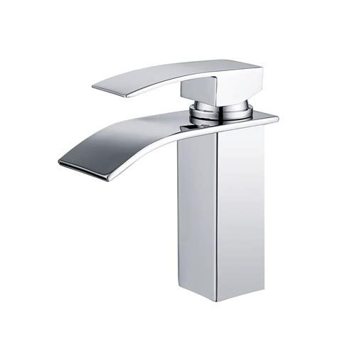 rubinetto bagno a cascata rubinetto a cascata miscelatore lavabo bagno cromato