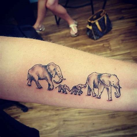 family elephant tattoo 25 best ideas about elephant family on