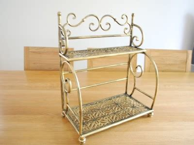 bakers rack in bathroom handmade iron french style bakers stand kitchen rack