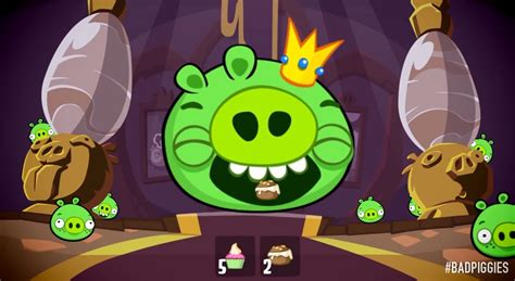 Kaos Bad Piggies Badpiggies 5 new bad piggies update lets you feedkingpig