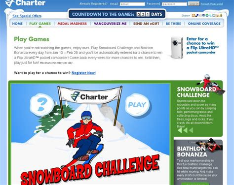 Charter Sweepstakes - charter flash games sweepstakes at charter com