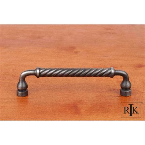 distressed nickel cabinet hardware distressed nickel twisted pull rk international inc pulls