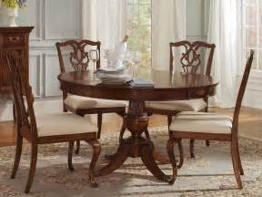 round dining room sets cherry dining room sets home twink