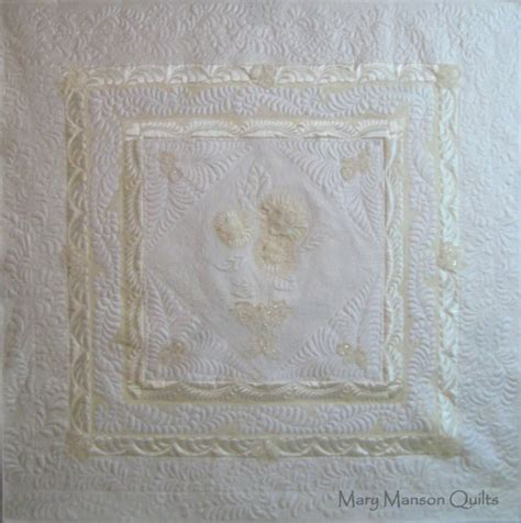 Bridal Quilts by Wedding Dress Quilts Wedding Quilts By Marymansonquilt