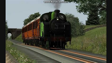 train simulator  lner br  tank youtube