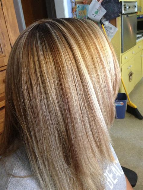 where to place foils in hair copper blonde brown and blonde hilift foils hair look