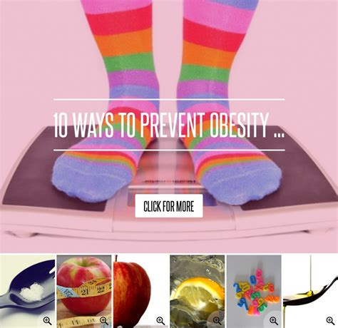 10 Ways To Avoid Obesity by 10 Ways To Prevent Obesity Health