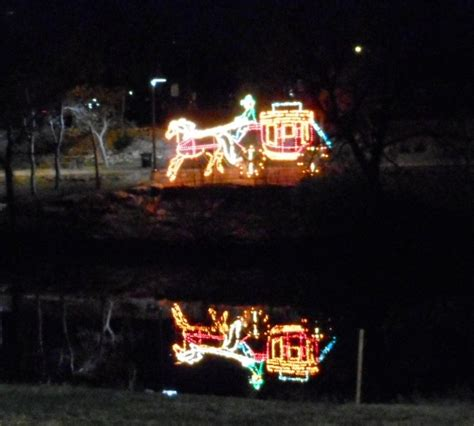 happy trails christmas lights in san angelo 2014