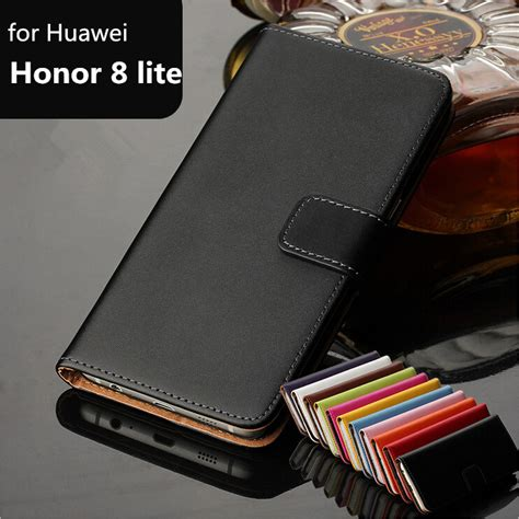 Huawei Honor Enjoy 5s Leather Flip Book Cover Kulit Sarung Elegan luxury wallet for huawei honor 8 lite card holder holster premium leather flip cover