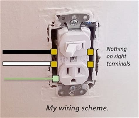 install a switched outlet to a l