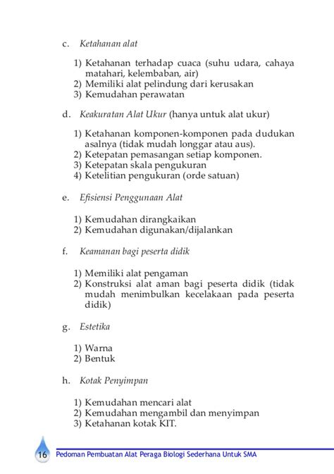 format buku catatan penggunaan alat peraga buku alat peraga biologi