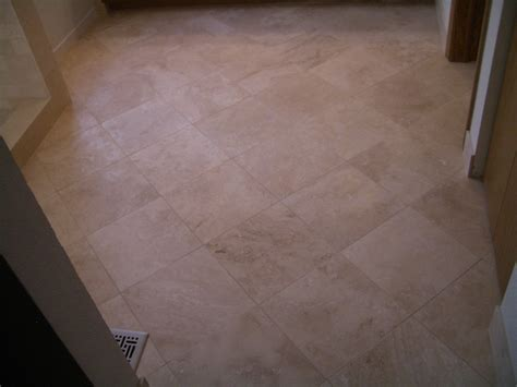 how to tile a floor how to install absolutely flat floor tile