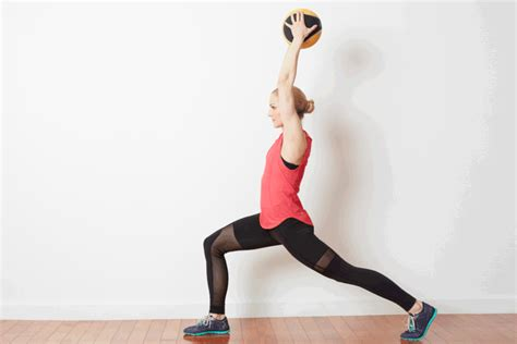 medicine ball swing strength training exercises with a medicine ball