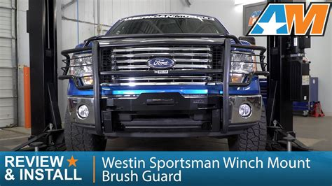 Max Pull Winch Gm 1 Si 2009 2014 f 150 westin sportsman winch mount brush guard review install
