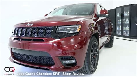 2018 Jeep Grand Review by 2017 2018 Jeep Grand Srt Review Part 1 4