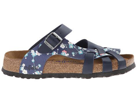 pisa birkenstock sandals birkenstock pisa by papillio suki blue birko flor