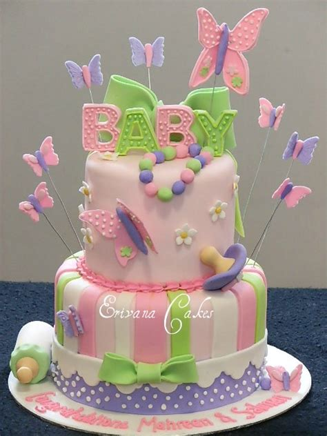 Butterfly Baby Shower Cake Photos by Baby Shower Cakes Baby Shower Cake Ideas With Butterflies