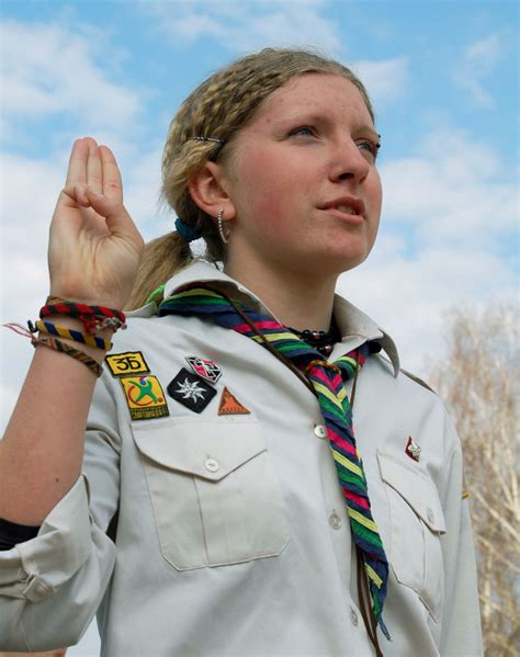 The Scout by Scout Sign And Salute
