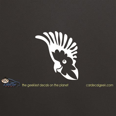 cockatoo parrot bird car window decal sticker bird decals