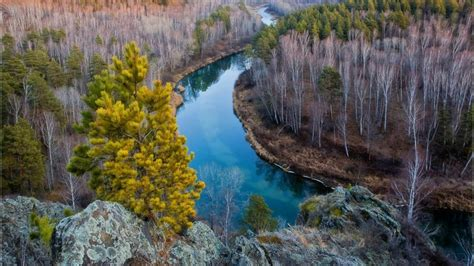 wallpaper river water rocks trees autumn landscape mountain river in siberia rocks trees