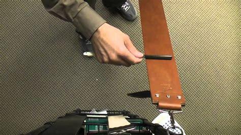 how to strop a razor stropping a razor