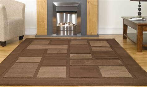 tappeti design moderni tappeto economico colore marrone design moderno