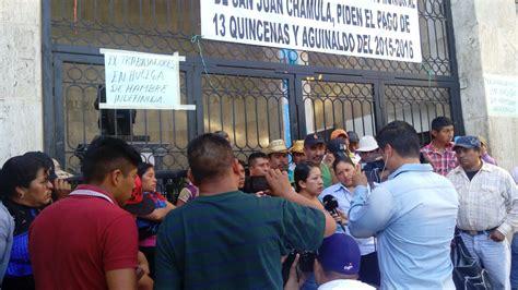 pagos de refrendos de chiapas instalan chamulas huelga de hambre demandan pagos