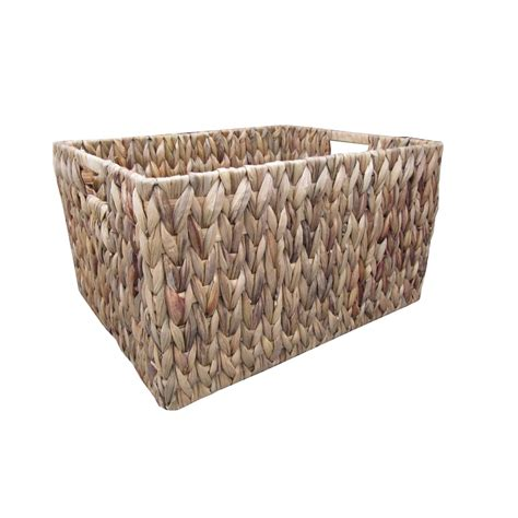 buy baskets buy water hyacinth rectangular storage baskets from the