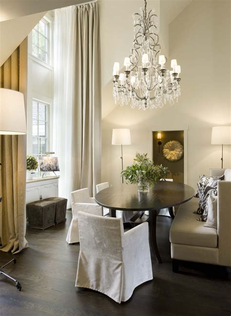 dining room chandeliers transitional oval crystal chandelier for transitional dining room with high ceiling findfurnished com
