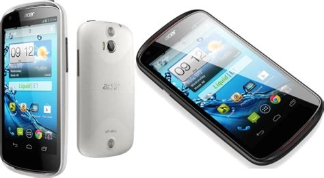 Harga Hp Acer Qwerty acer liquid e1 smartphone android dengan prosesor dual