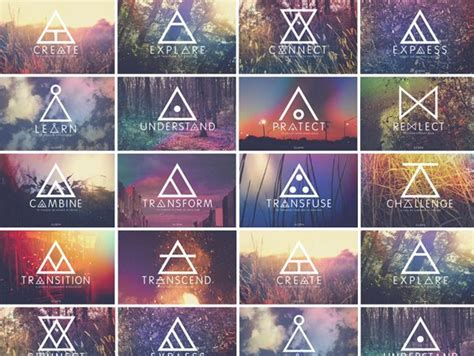 glyph tattoos best 25 triangle meaning ideas on symbolic