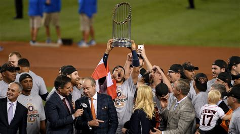 reaction houston astros win   world series title  week uk