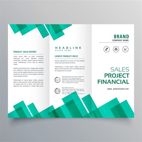 Elegant Geometric Business Brochure Vector Design Template Download Free Vector Art Stock Remodeling Template