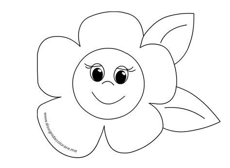 fiore disegni disegno fiore di primavera da colorare disegni da colorare