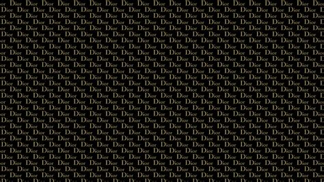 Dior Gold Desktop Wallpaper