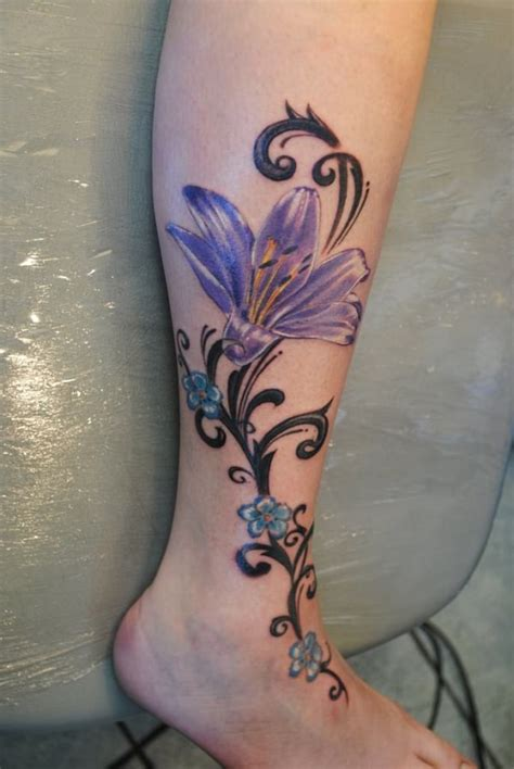 lower leg tattoos for females lower leg tattoos creativefan