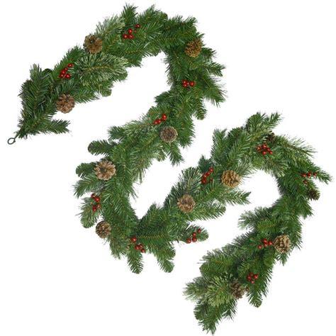Ordinary Unlit Christmas Garland #3: National-tree-company-christmas-garland-ccb19-9a-64_1000.jpg