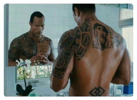 dwayne johnson cross tattoo in rundown pin by amanda kendrick on quot the rock quot pinterest dwayne