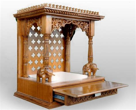 wooden mandir design house pooja room mandir designs pooja mandir home temple puja mandap