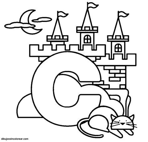 imagenes que empiecen con la letra c dibujos para colorear que empiecen con la letra c imagui