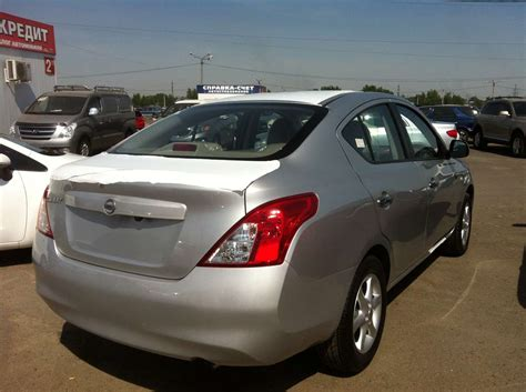 nissan sunny 2012 2012 nissan sunny for sale 1 5 gasoline for sale