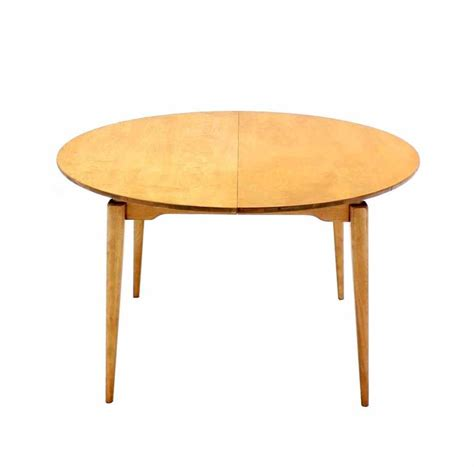 Birch Dining Table Birch Dining Table With Three Leaves For Sale At 1stdibs